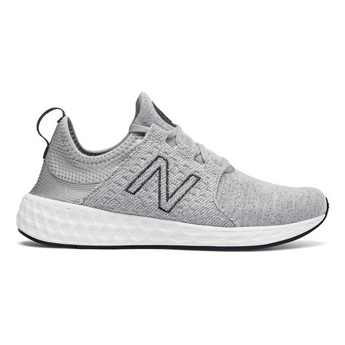Womens New Balance Fresh Foam Cruz v1 Retro Hoody Casual Shoe - Silver 8