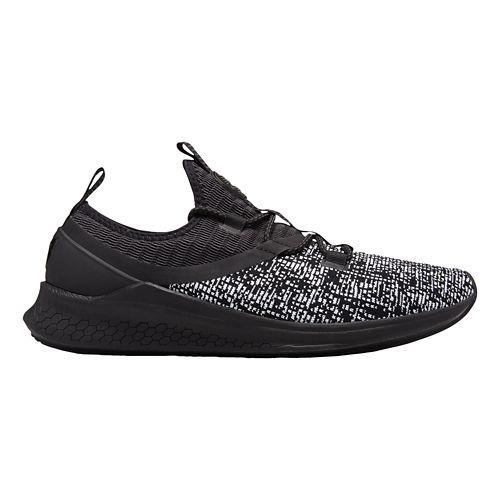 Mens New Balance Fresh Foam Lazr v1 Sport Running Shoe - Black/Black 9.5
