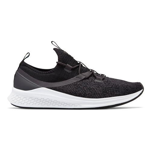 Mens New Balance Fresh Foam Lazr v1 Sport Running Shoe - Black/White/Blue 11