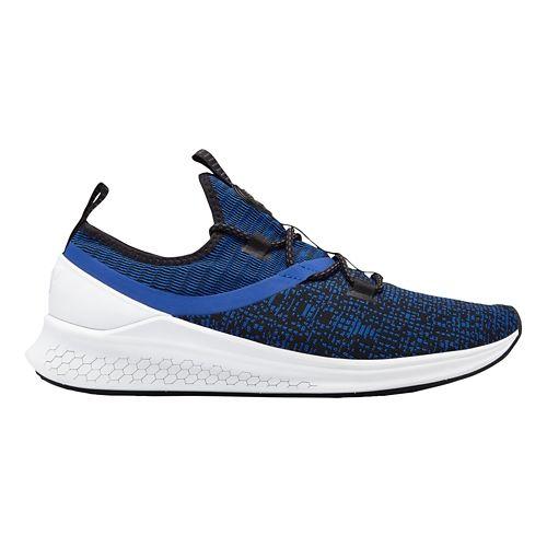 Mens New Balance Fresh Foam Lazr v1 Sport Running Shoe - Royal/Black/White 10