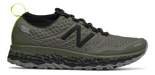 Mens New Balance Fresh Foam Hierro v3 Trail Running Shoe - Military Green 12.5