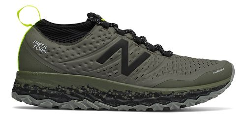 Mens New Balance Fresh Foam Hierro v3 Trail Running Shoe - Military Green 7