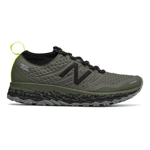 Mens New Balance Fresh Foam Hierro v3 Trail Running Shoe - Military Green 14