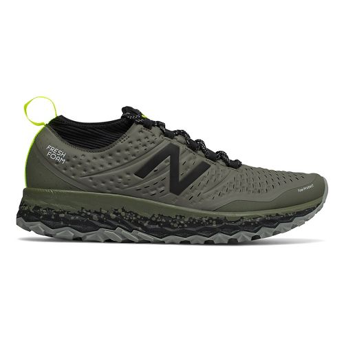 Mens New Balance Fresh Foam Hierro v3 Trail Running Shoe - Military Green 8.5