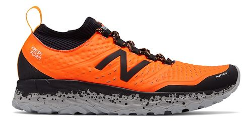 Mens New Balance Fresh Foam Hierro v3 Trail Running Shoe - Dynomite/Black 15