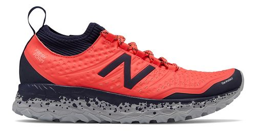 Womens New Balance Fresh Foam Hierro v3 Trail Running Shoe - Coral/Pigment 10.5