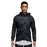 Mens adidas Supernova TKO Running Jackets - Carbon/Black S