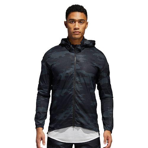 Mens adidas Supernova TKO Running Jackets - Carbon/Black S