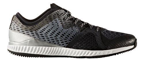 Womens adidas Crazytrain Pro Trail Running Shoe - Black/Silver/Black 7