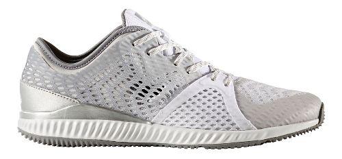 Womens adidas Crazytrain Pro Trail Running Shoe - Grey/White 8.5
