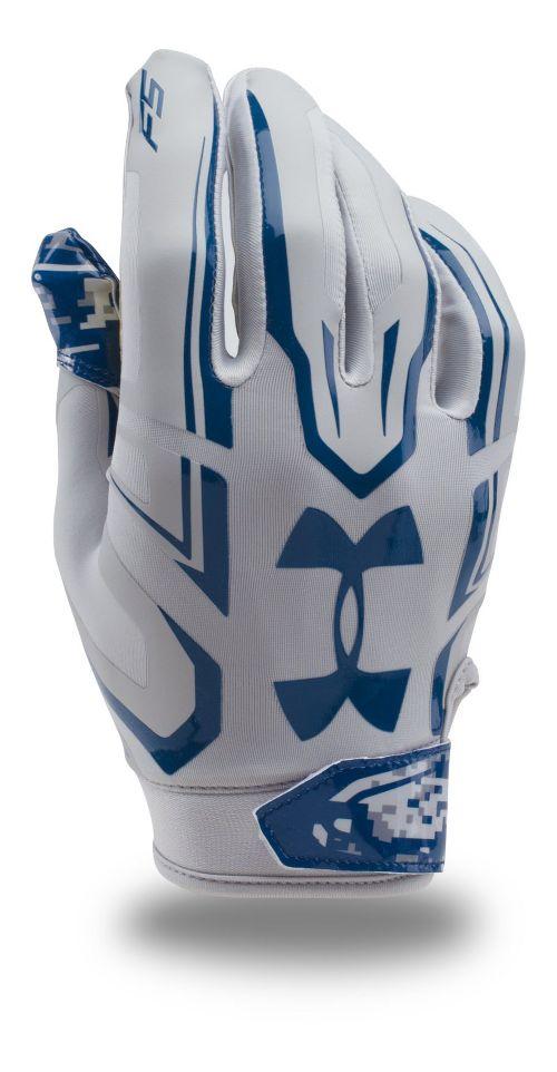 Mens Under Armour Limited Edition F5 Handwear - Aluminum L