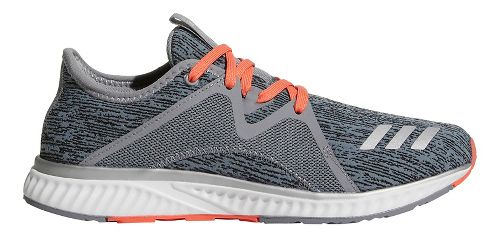 Womens adidas Edge Lux 2 Running Shoe - Grey/Silver/Coral 6.5