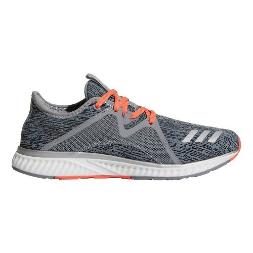 Womens adidas Edge Lux 2 Running Shoe - Grey/Silver/Coral 10.5