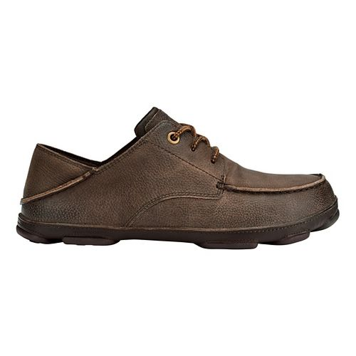 Mens OluKai Hamakua Poko Casual Shoe - Dark Wood/Dark Wood 10