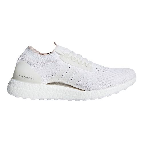 Womens adidas Ultra Boost X Clima Running Shoe - White/Pearl 7.5