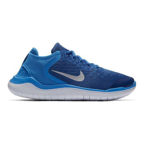 Kids Nike Free RN 2018 Running Shoe - Blue 7Y