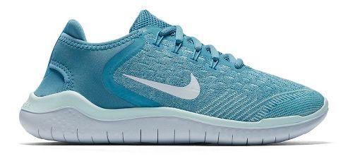 Kids Nike Free RN 2018 Running Shoe - Aqua 4Y