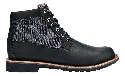 Mens OluKai Hualalai Casual Shoe - Black/Black 10.5