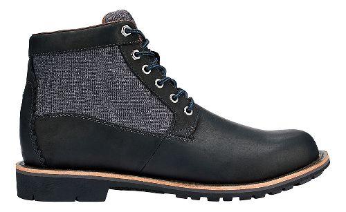 Mens OluKai Hualalai Casual Shoe - Black/Black 8.5