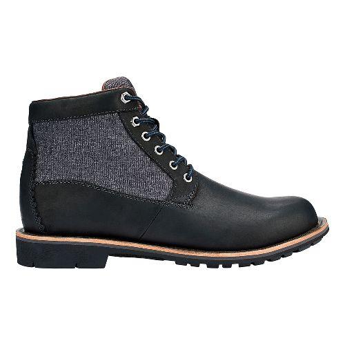Mens OluKai Hualalai Casual Shoe - Black/Black 11