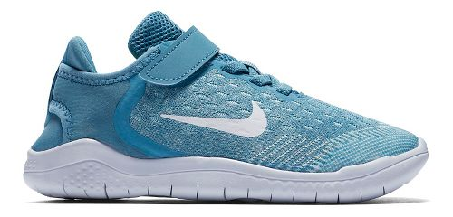 Kids Nike Free RN 2018 Running Shoe - Aqua 11C