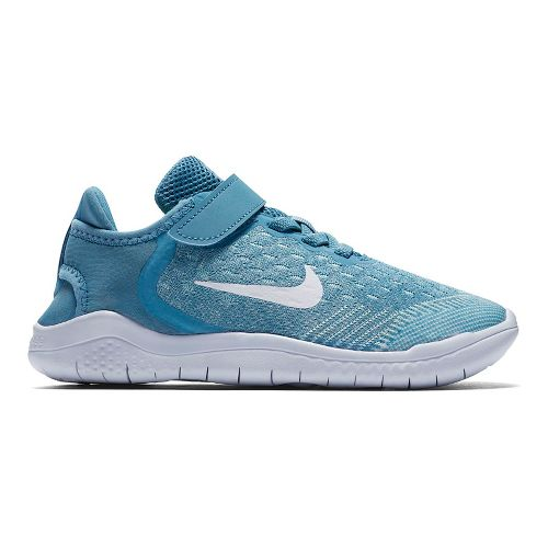 Kids Nike Free RN 2018 Running Shoe - Aqua 13C