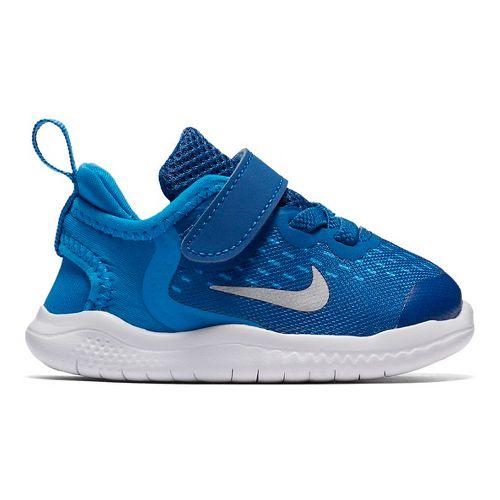 Kids Nike Free RN 2018 Running Shoe - Blue 8C