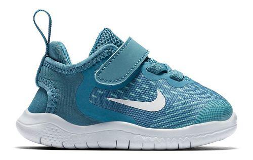 Kids Nike Free RN 2018 Running Shoe - Aqua 6C