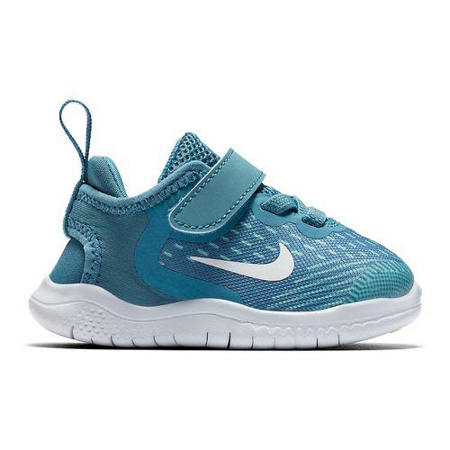 Kids Nike Free RN 2018 Running Shoe - Aqua 7C