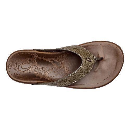 Mens OluKai Kohana Kai Sandals Shoe - Mustang/Toffee 10