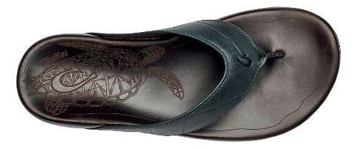 Mens OluKai Kohana Kai Sandals Shoe - Moss/Dark Wood 12