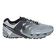 Mens Merrell Agility Peak Flex 2 E-Mesh Trail Running Shoe - Grey 10