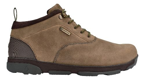 Mens OluKai Kualono WP Casual Shoe - Ray/Dark Wood 14