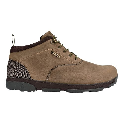 Mens OluKai Kualono WP Casual Shoe - Ray/Dark Wood 9