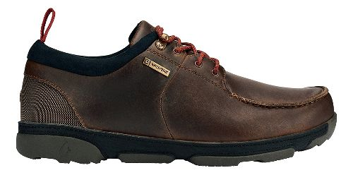 Mens OluKai Makoa WP Casual Shoe - Carob/Black 10.5