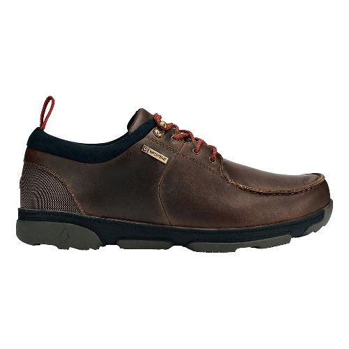 Mens OluKai Makoa WP Casual Shoe - Carob/Black 10