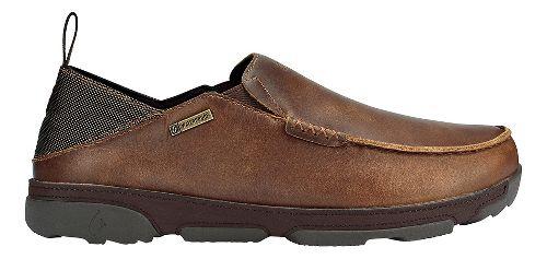 Mens OluKai Na'i WP Casual Shoe - Fox/Dark Wood 9.5