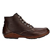 Mens OluKai Ni'o Boot Casual Shoe - Dark Wood/Rum 9.5