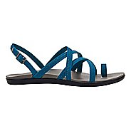Womens OluKai Kalapu Sandals Shoe - Blue/Grey 11