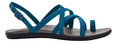 Womens OluKai Kalapu Sandals Shoe - Blue/Grey 8