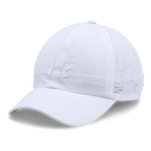 Womens Under Armour Driver Cap Headwear - White