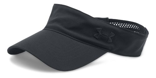 Womens Under Armour Links Visor Headwear - Black