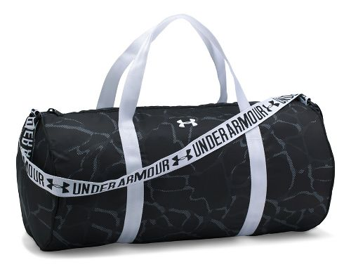 Womens Under Armour Favorite Duffel 2.0 Bags - Black/White
