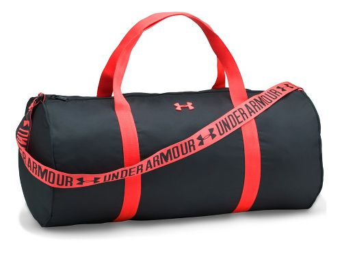 Womens Under Armour Favorite Duffel 2.0 Bags - Anthracite/Red