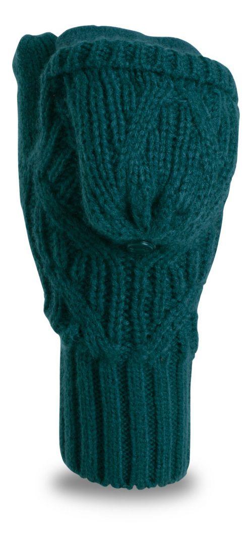 Womens Under Armour Around Town Mitten Handwear - Arden Green S/M