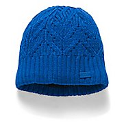 Womens Under Armour Around Town Beanie Headwear - Lapis Blue