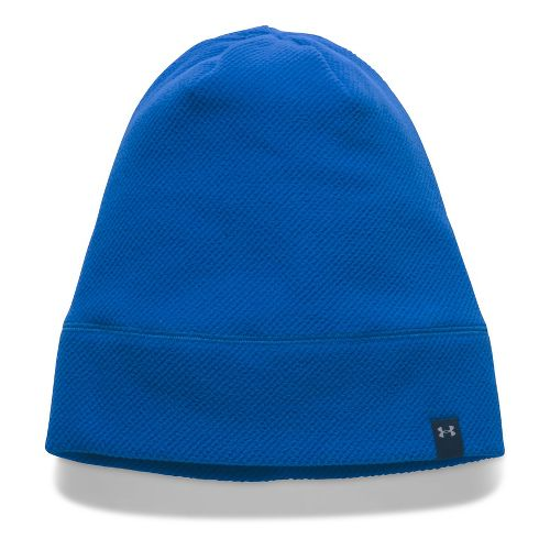 Womens Under Armour CGI Fleece Beanie Headwear - Lapis Blue