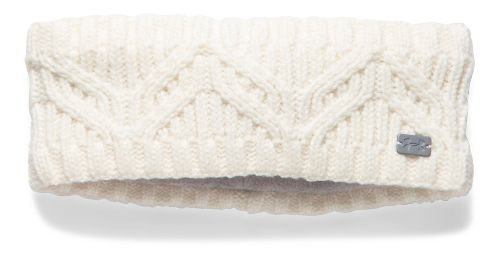 Womens Under Armour Around Town Headband Headwear - Ivory