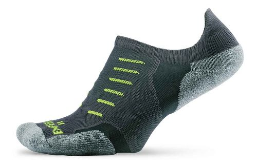 Thorlos Experia Thin Padded No Show Tab Socks - Grey L
