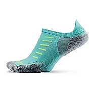 Thorlos Experia Thin Padded No Show Tab Socks - Spearmint M
